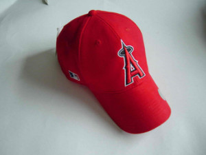 Custom Baseball Caps for the LA Angels