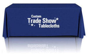 Custom Tradeshow Tablecloths