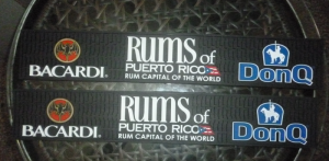 Custom Rums of Puerto Rico Bar Mats