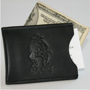 Custom Debossed Leather Wallet