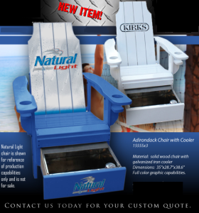 Custom Cooler Chairs