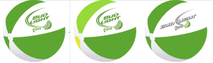 Bud Light Beach Balls